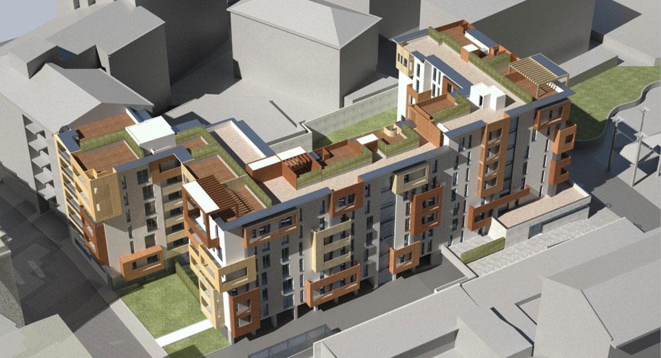Nuovo complesso residenziale Via Brenta_00