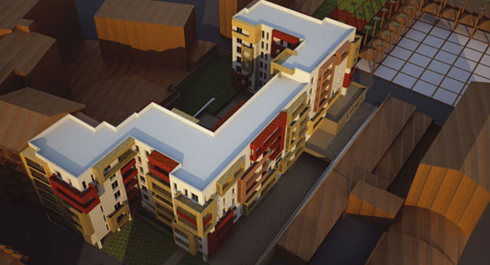 Nuovo complesso residenziale Via Brenta_04