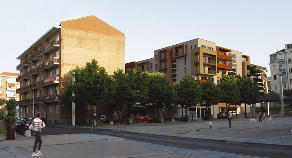 Nuovo complesso residenziale Via Brenta_06