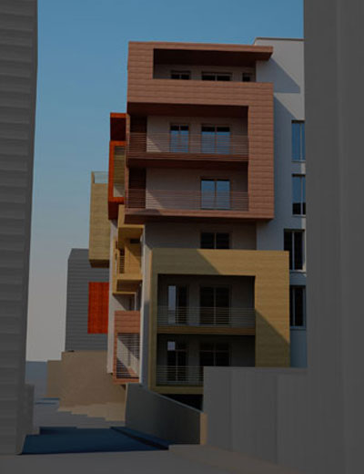 Nuovo complesso residenziale Via Brenta_07