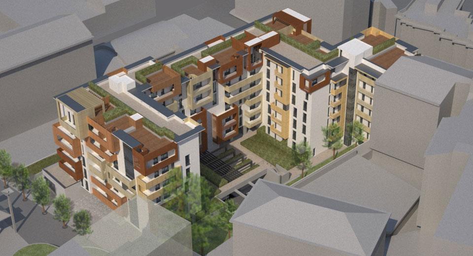 Nuovo complesso residenziale Via Brenta_08