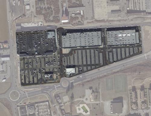Realizzazione di un centro commerciale sequenziale